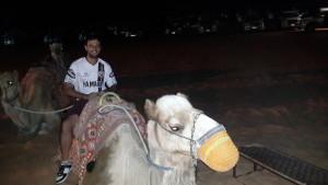 Montando un camello