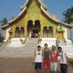 Templo que protege al Buda