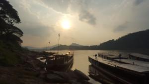 Atardecer en el Mekong