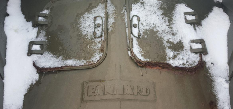 Panhard en el Museo de las Islas Malvinas