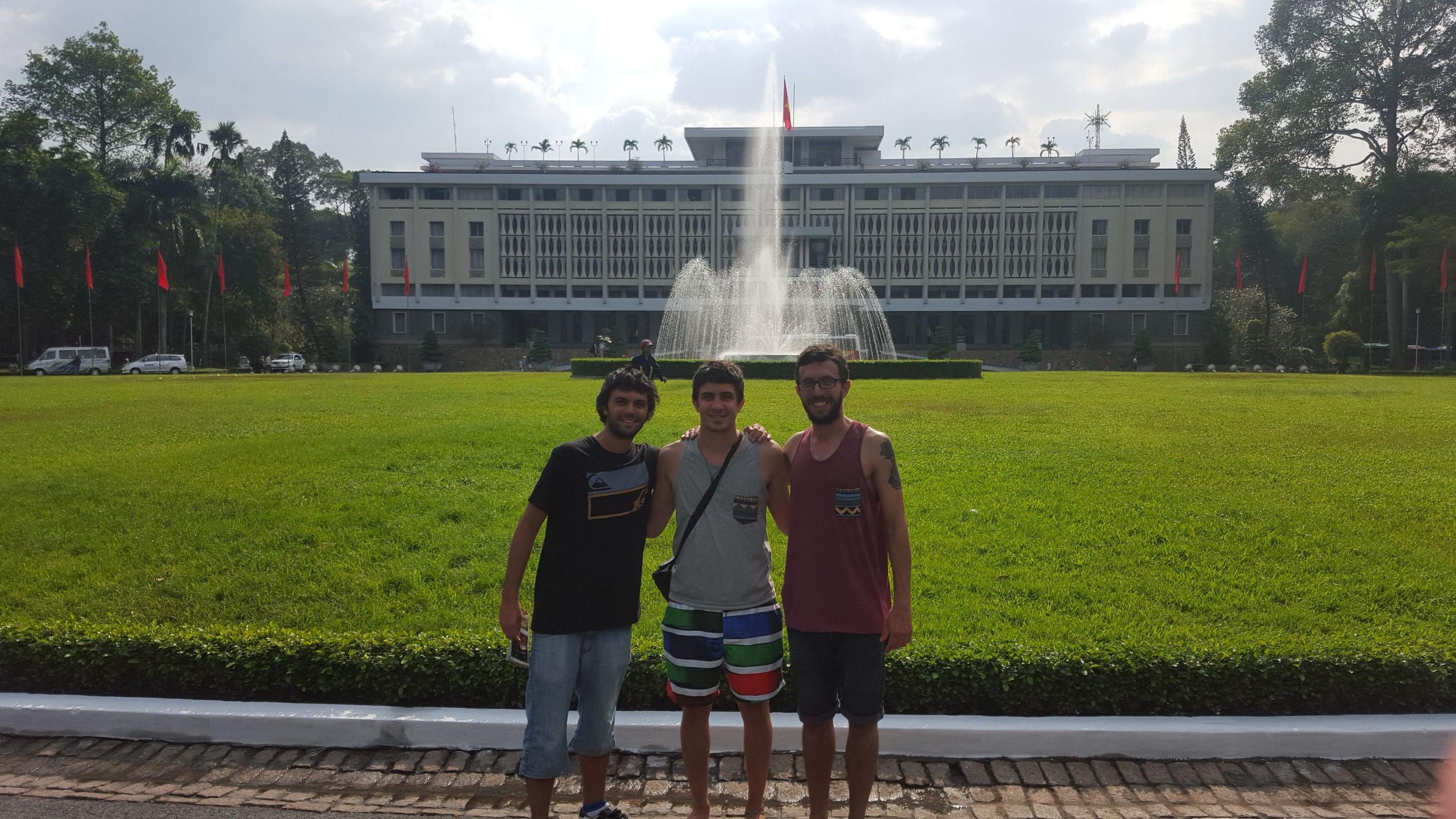 Palacio de la Independencia en Ho Chi Minh
