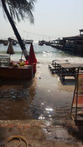 Amanecimos inundados