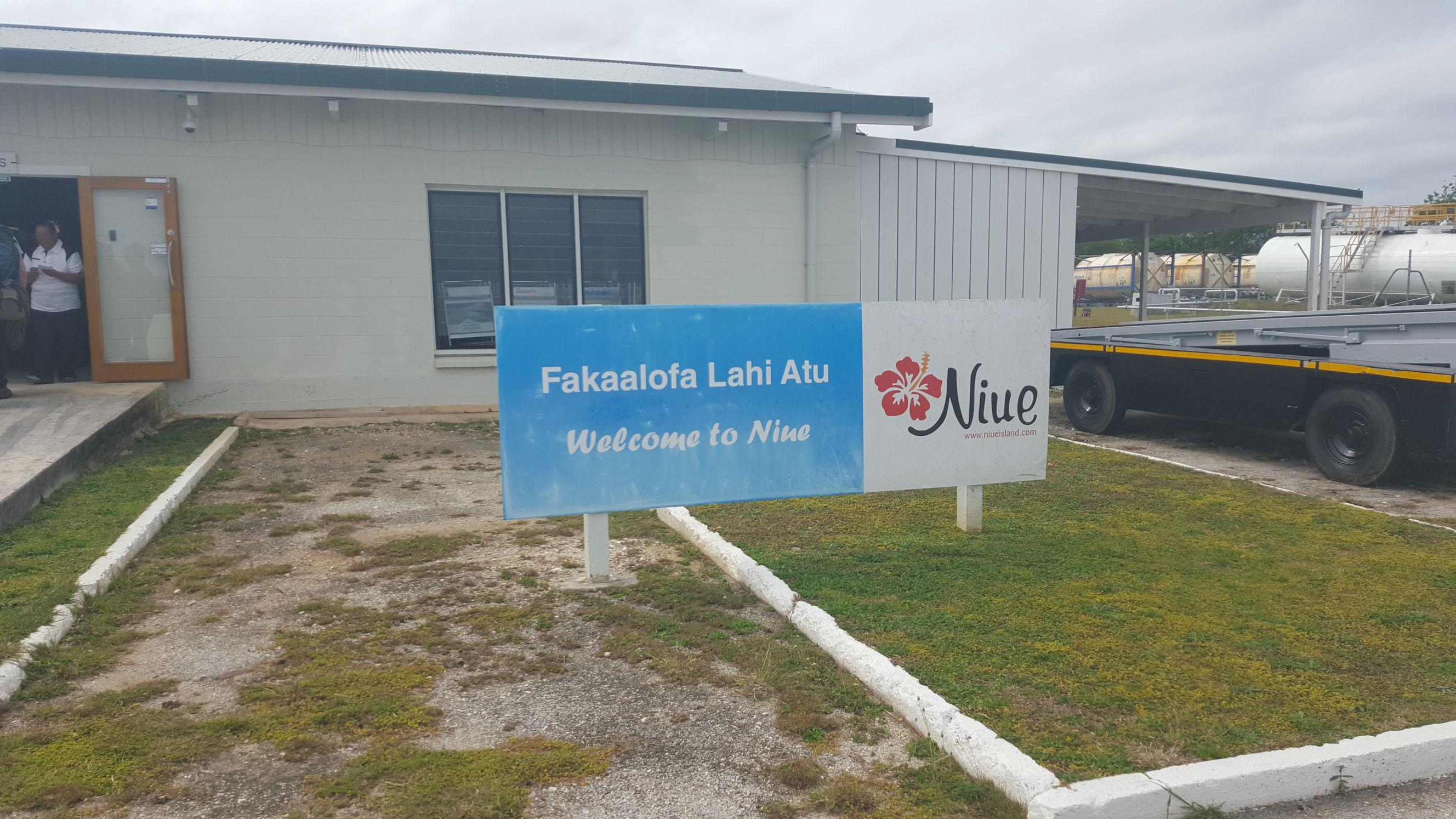 Bienvenido a Niue!