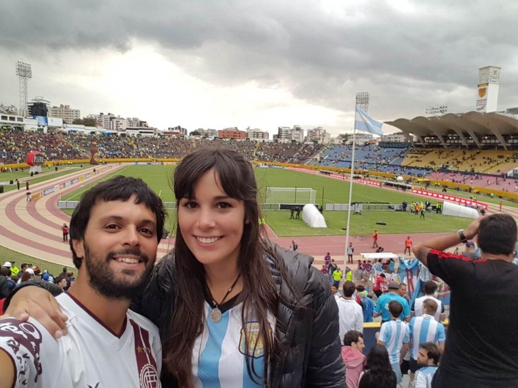 Estado Olímpico Atahualpa, clasificamos al Mundial!