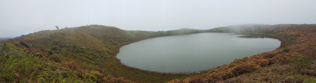 Laguna El Junco en Isla San Cristóbal