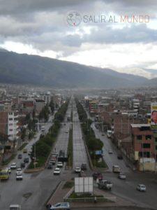 Vista desde Pachacuteq