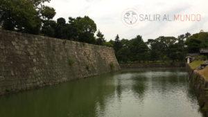 Muralla y agua